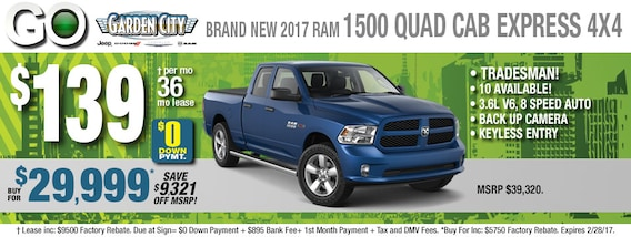Truck Lease Deals >> Great New Long Island Ram Truck Deals Ram Truck Quad Cab