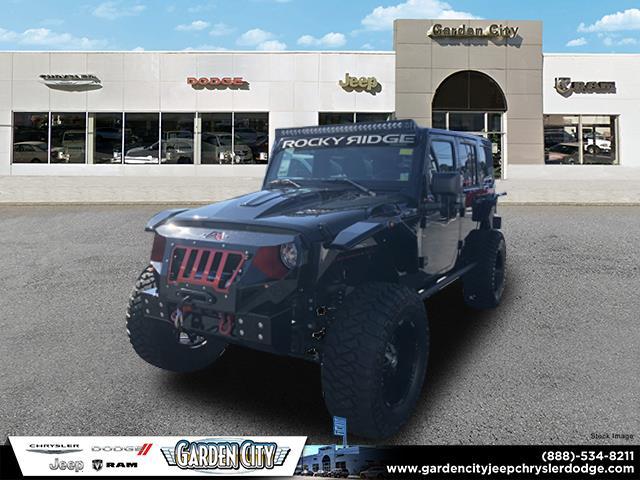 2018 Jeep Wrangler Unlimited Sahara Rocky Ridge MadRock Sport Utility