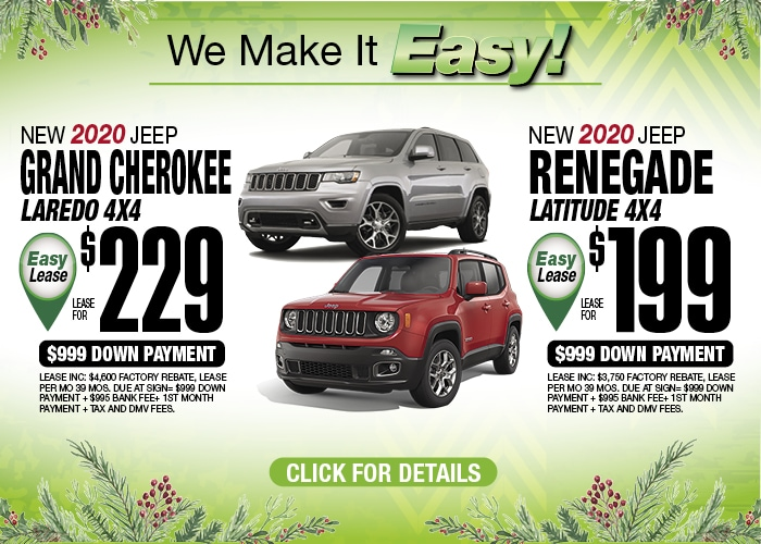 Jeep Grand Cherokee Laredo Jeep Renegade Lat Dec 2019