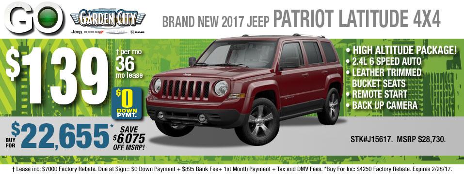 New 2017 Jeep Patriot ...
