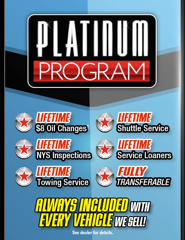 Garden city jeep chrysler dodge platinum programu, Garden City Jeep Chrysler Dodge Platinum Program