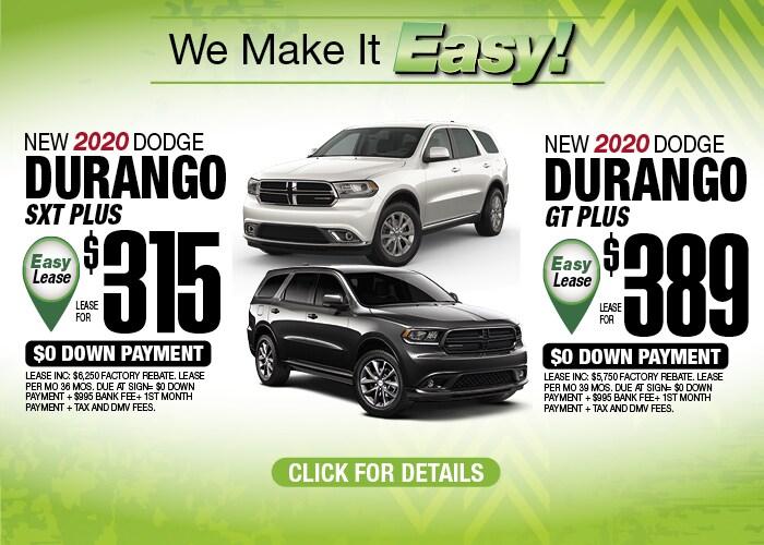 Dodge Durango Deals May 2020