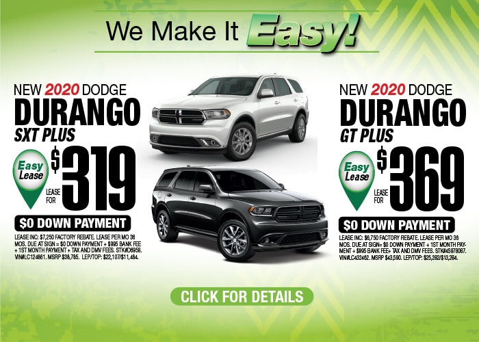 Dodge Durango - August 2020