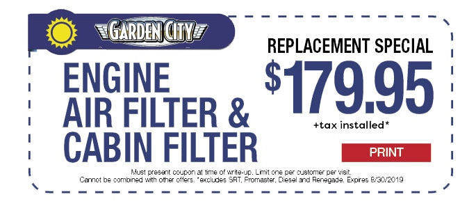 Change your filters!
