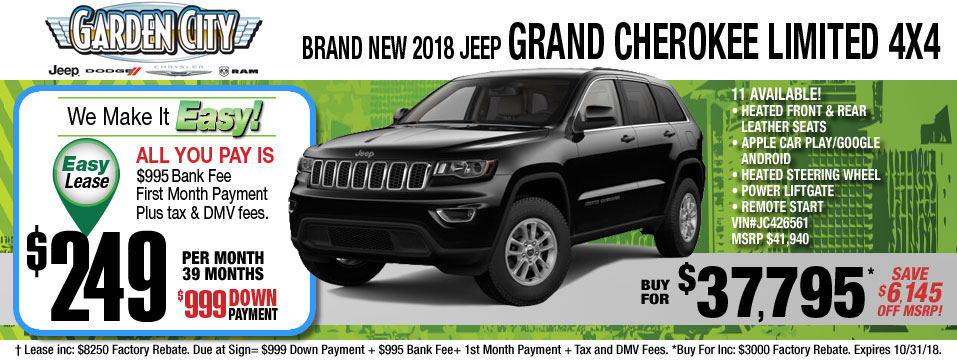 New Jeep Grand Cherokee Inventory In Hempstead Long Island NY. Donu0027t ...