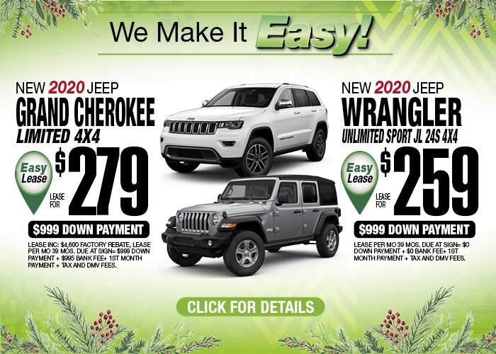 Jeep GC Ltd Jeep  Wrangler Unlt Dec 2019