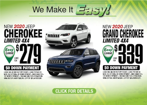 Jeep Grand Cherokee Limited Jeep Cherokee Limited Aug 2020