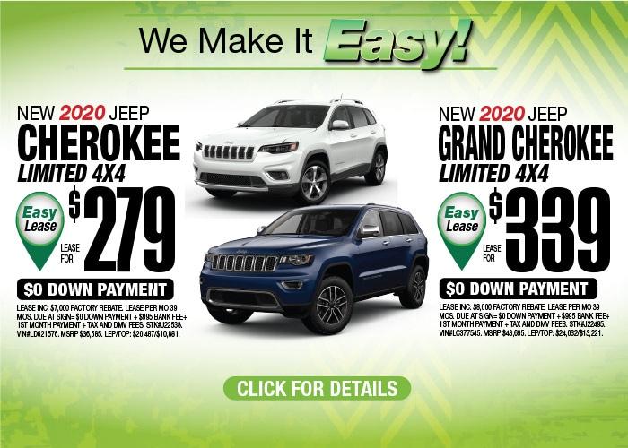 Jeep Grand Cherokee Limited Jeep Cherokee Limited Aug 2020