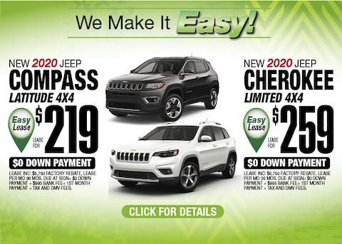 Jeep Compass Jeep Cherokee Deals May 2020