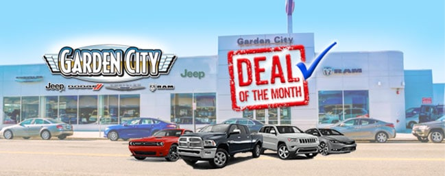 deal of the month 2016 jeep cherokee latitude - Garden City Jeep
