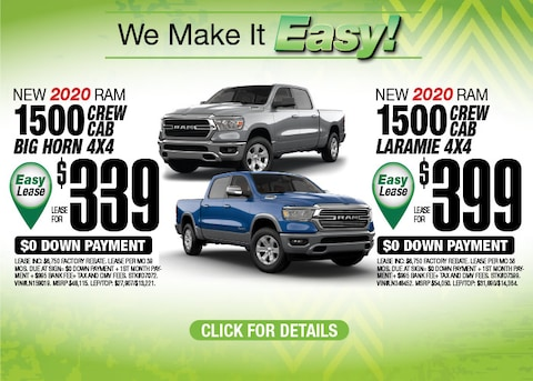 Ram 1500 Deals Aug 2020