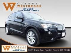 2017 BMW X3 sDrive28i SAV for sale near you in Garden Grove, CA