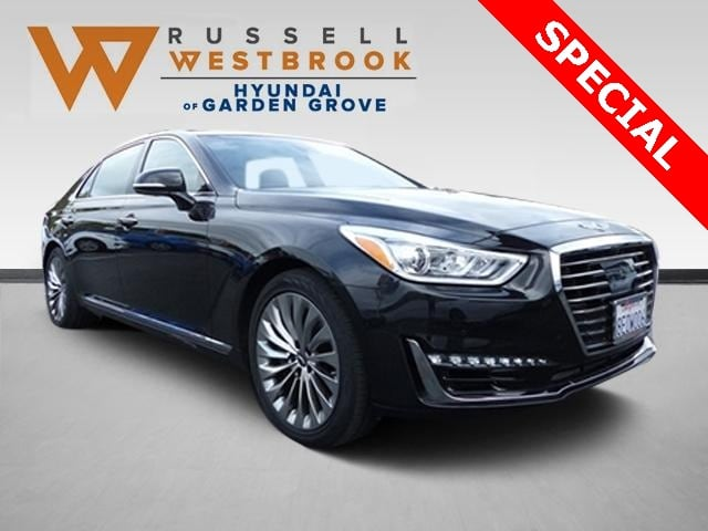 Pre-Owned Featured 2018 Genesis G90 3.3T Premium Sedan for sale near you in Garden Grove, CA