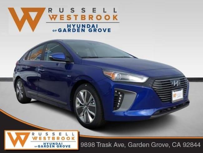 New 2019 Hyundai Ioniq Hybrid Limited Hatchback in Garden Grove