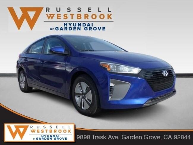 New 2019 Hyundai Ioniq Hybrid Blue Hatchback in Garden Grove
