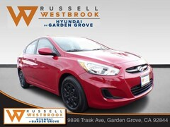 Certified Pre-Owned 2017 Hyundai Accent SE Sedan for sale near Santa Ana
