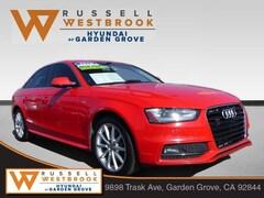 2016 Audi A4 2.0T Premium (Tiptronic) Sedan for sale near you in Garden Grove, CA