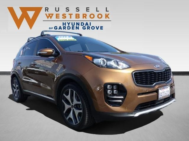 Pre-Owned Featured 2018 Kia Sportage SX Turbo SUV for sale near you in Garden Grove, CA