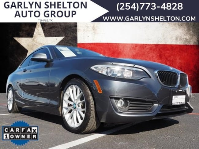 Used 2014 BMW 228 Coupe Temple