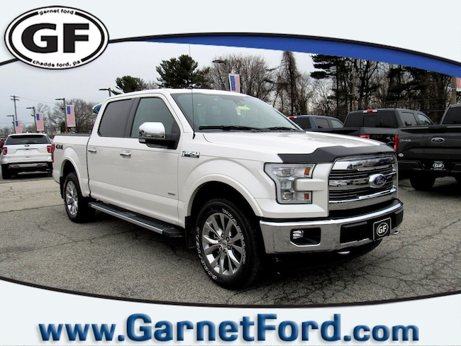 Certified Used 2017 Ford F-150 C/C Lariat 4x4 Lariat 4WD SuperCrew 5.5 Box in West Chester, PA