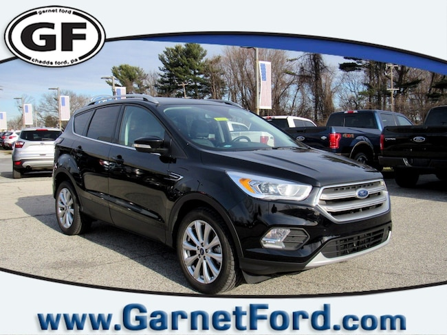 Certified Used 2017 Ford Escape Titanium 4WD Titanium 4WD in West Chester, PA
