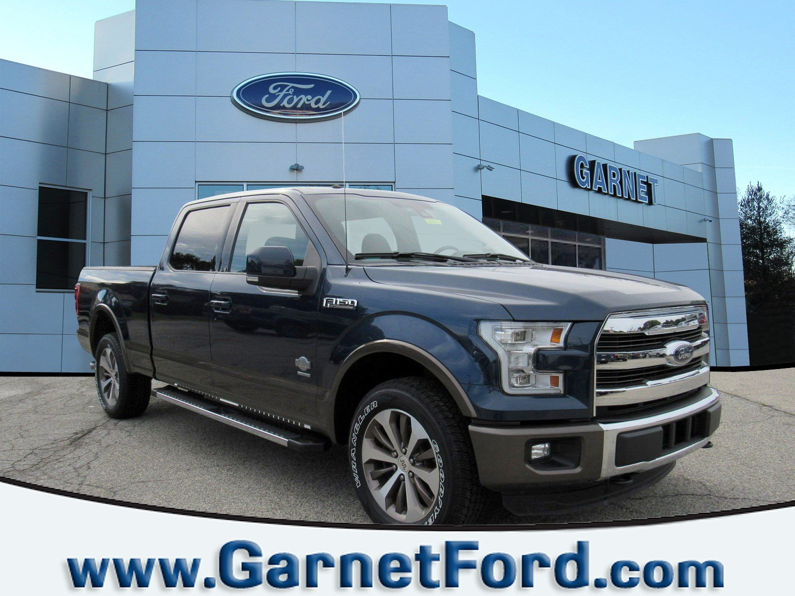 2016 Ford F-150 C/C King Ranch 4x4 4WD SuperCrew 157 King Ranch