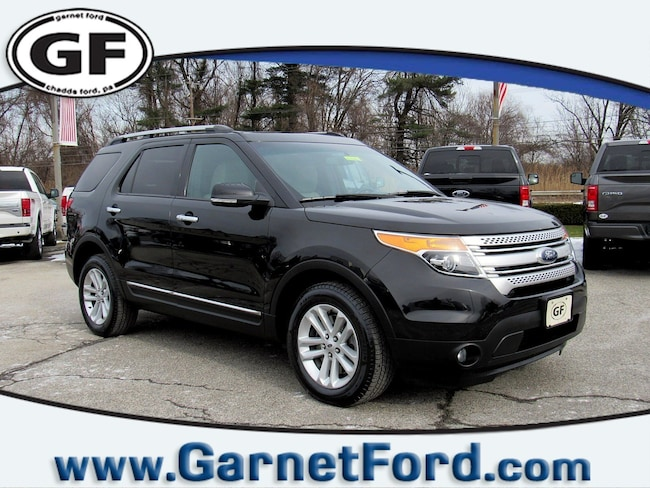 Certified Used 2014 Ford Explorer XLT 4WD  XLT in West Chester, PA