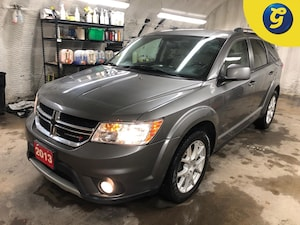 """2013 Dodge Journey Crew * V6 * Uconnect 8.4 with 8.4"""" touch scre"""
