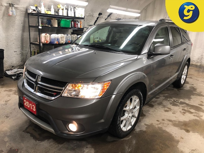 """2013 Dodge Journey Crew * V6 * Uconnect 8.4 with 8.4"""" touch scre SUV"""