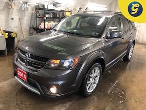 2014 Dodge Journey R/T * AWD * Leather * Navigation * Power sunroof *