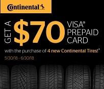 CONTINENTAL TIRE SPECIAL