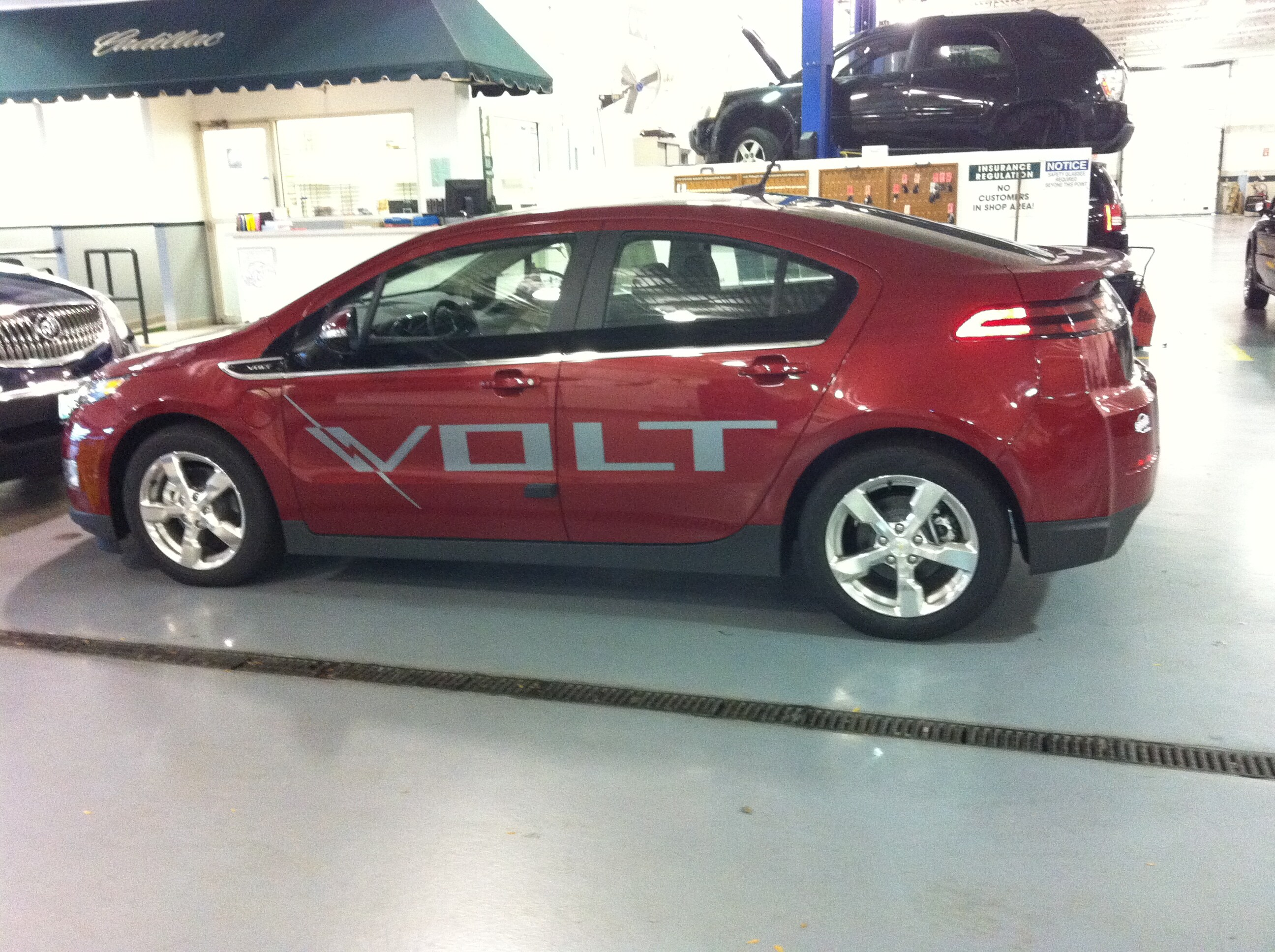 Gary Lang Chevy >> It S Here The 2012 Chevy Volt Is At Gary Lang Chevrolet