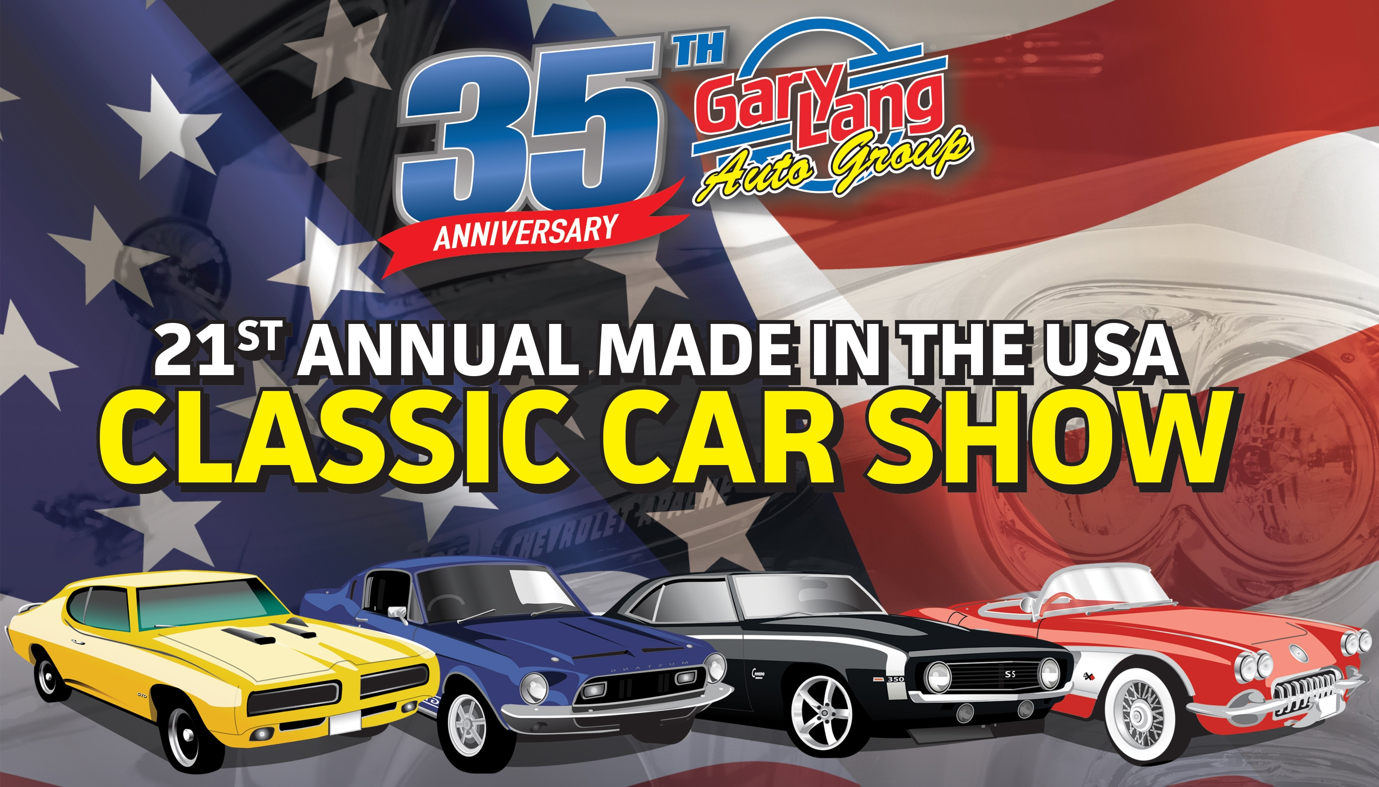 Gary Lang Auto Group Charity Classic Car Show Information - Thomas chevrolet car show