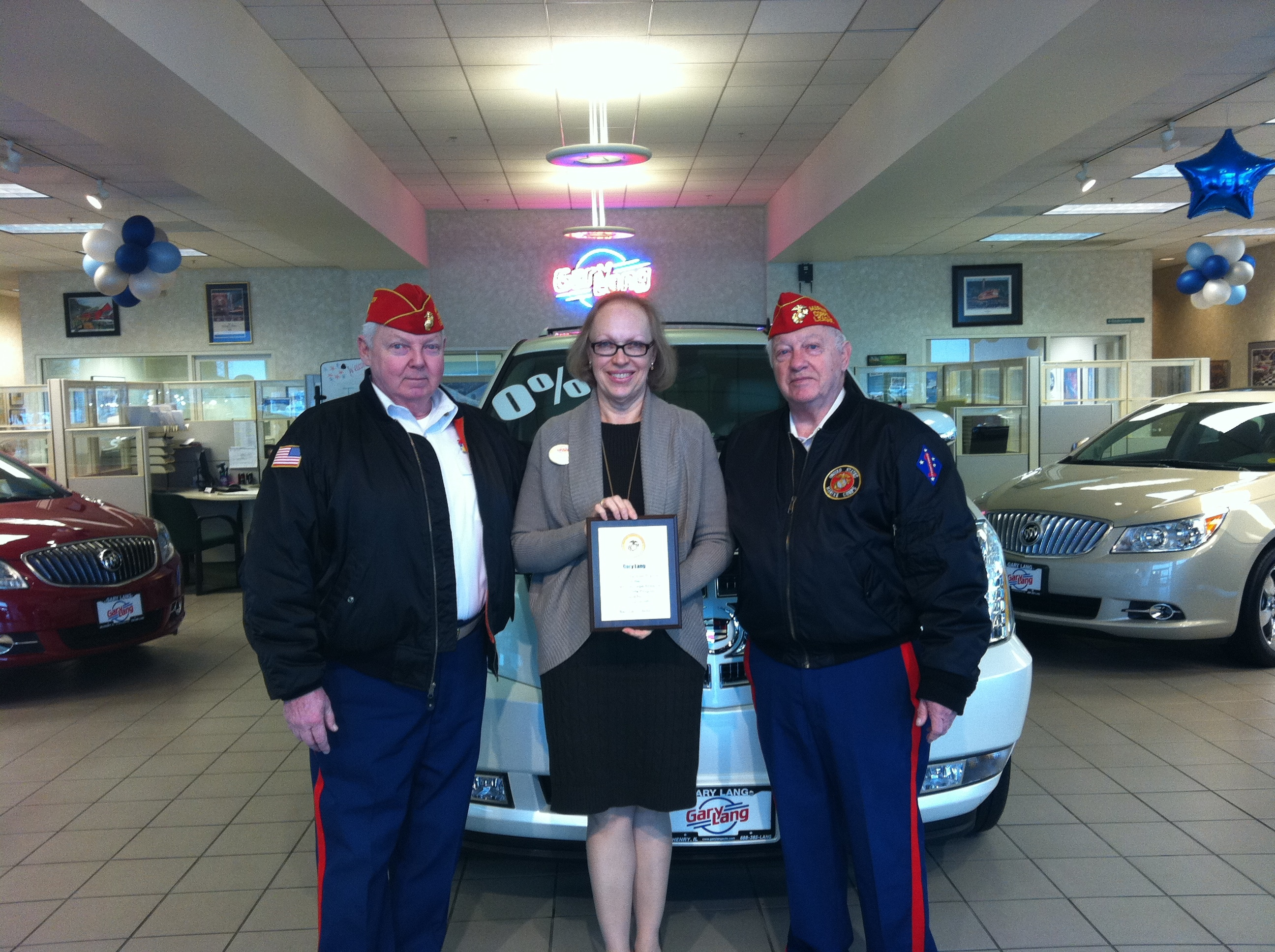 Toys for Tots Honors Gary Lang Auto Group