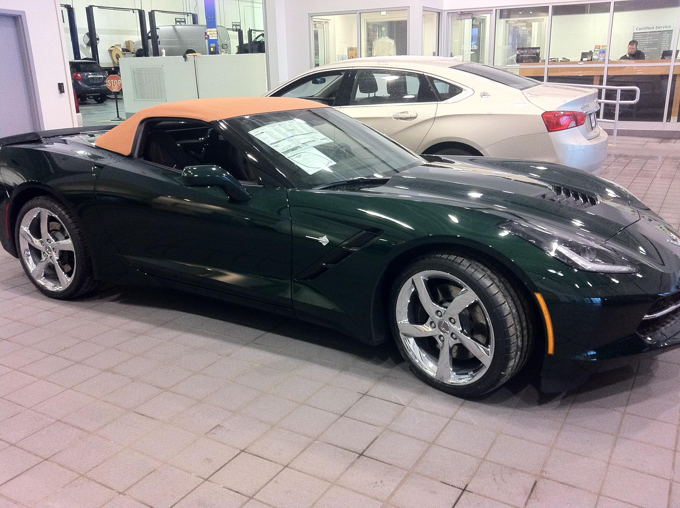 Now Available for Sale 2014 Corvette Stingray Convertible PREMIERE