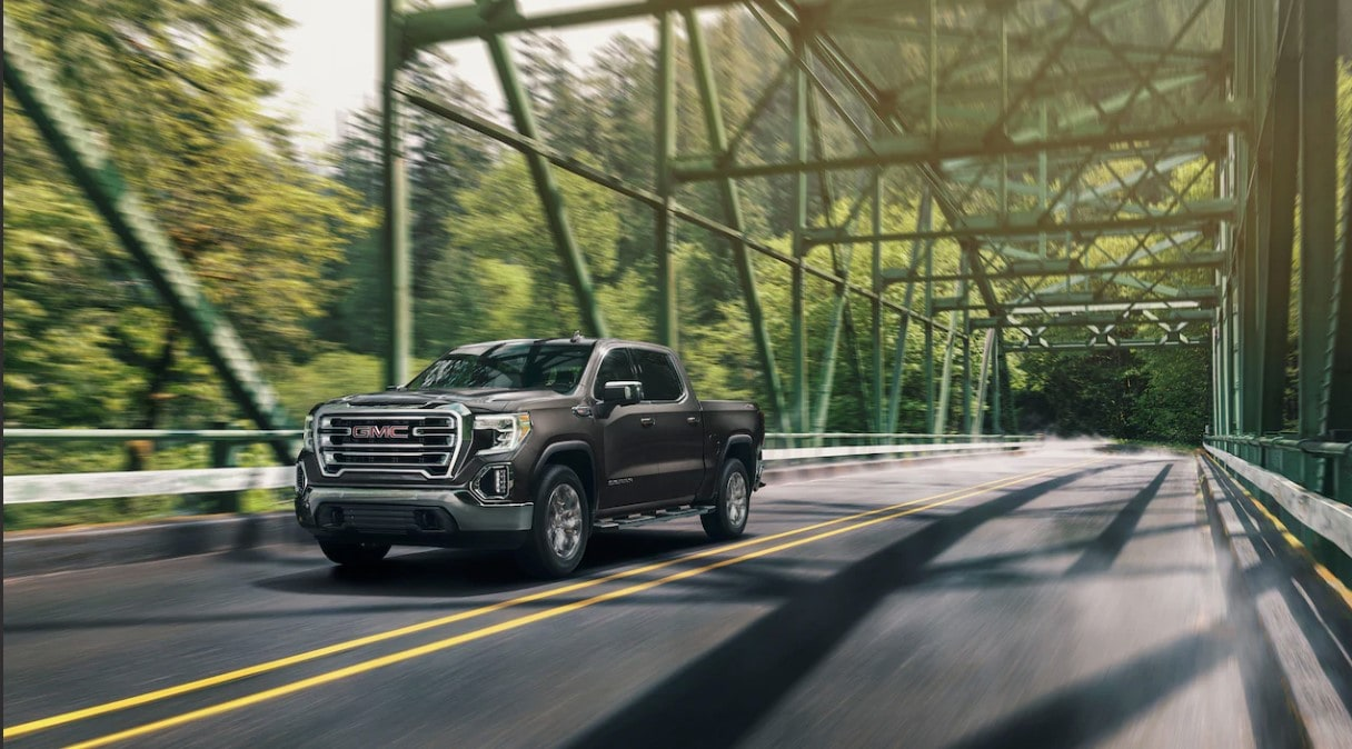 2020 GMC Sierra 1500 Front View Gray Exterior Picture