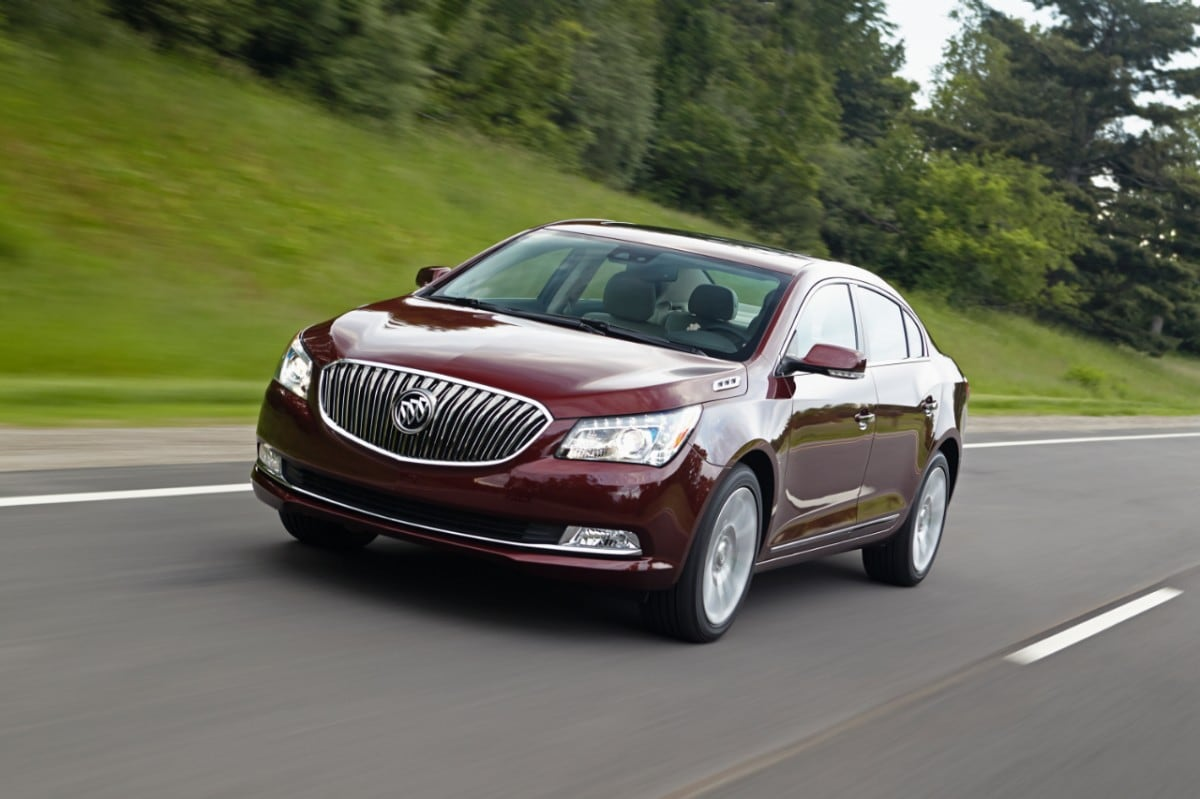 Buick LaCrosse: Danger, Warnings, and Cautions