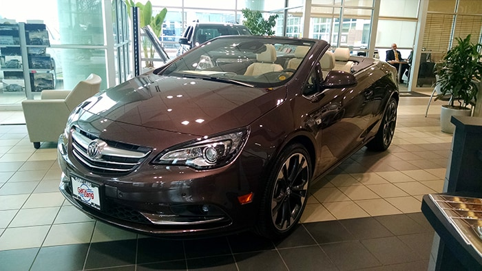 New Buick Cascada at our Buick GMC Dealership in McHenry, IL