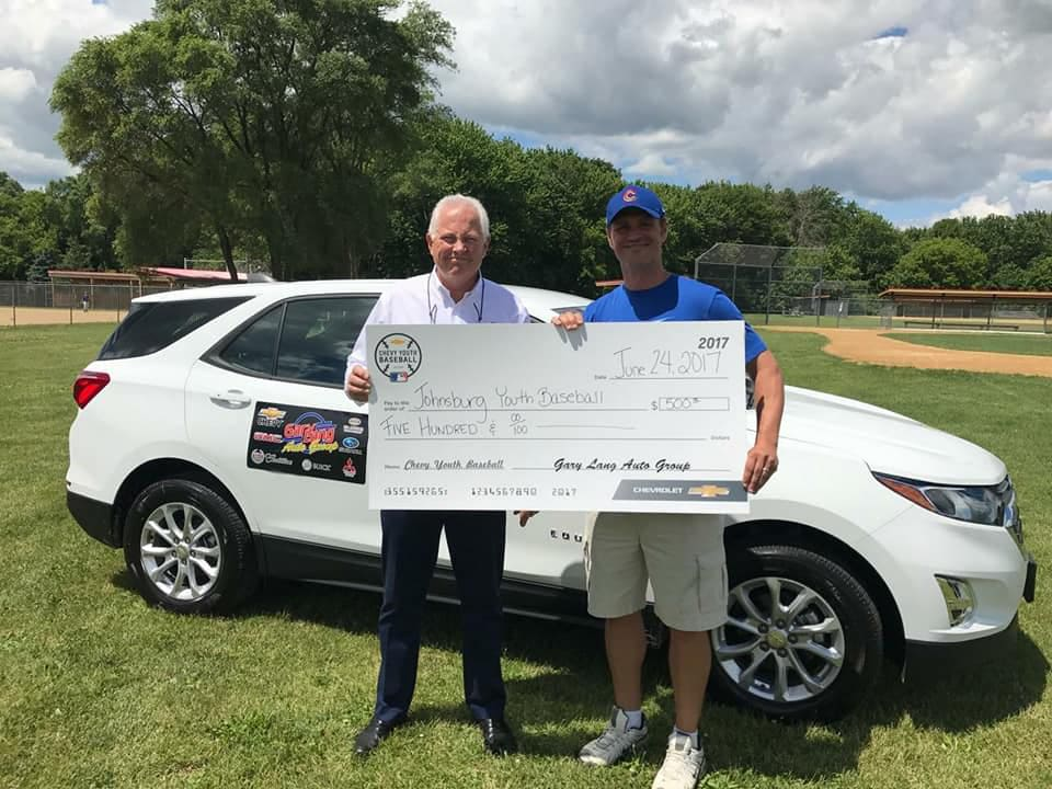 Johnsburg Youth Baseball Fundraiser with Gary Lang Chevrolet | Johnsburg, IL