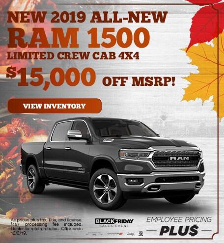 November | 2019 All-New Ram 1500