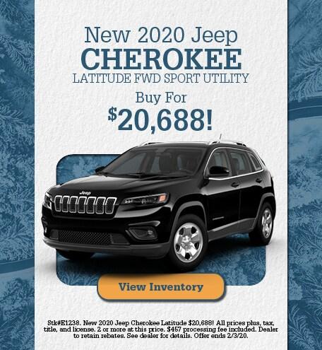 January | 2020 Jeep Cherokee