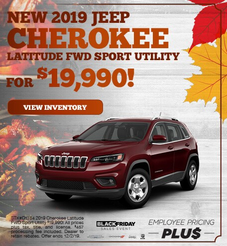 November | 2019 Jeep Cherokee