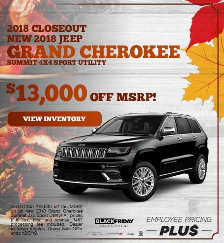 November | 2018 Jeep Grand Cherokee