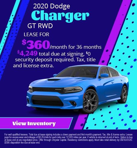 September 2020 Dodge Charger GT RWD
