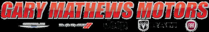 Gary Mathews Chrysler Dodge Jeep Ram FIAT
