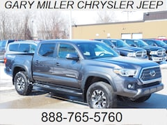 Used 2018 Toyota Tacoma TRD Off Road V6 Truck Double Cab 3TMCZ5AN3JM158986 for sale in Erie, PA at Gary Miller Chrysler Dodge Jeep Ram