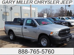 New 2019 Ram 1500 CLASSIC TRADESMAN REGULAR CAB 4X4 8' BOX Regular Cab 3C6JR7DG7KG510782 for sale in Erie, PA at Gary Miller Chrysler Dodge Jeep Ram