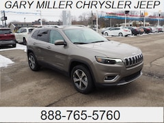 New 2019 Jeep Cherokee LIMITED 4X4 Sport Utility 1C4PJMDX1KD342529 for sale in Erie, PA at Gary Miller Chrysler Dodge Jeep Ram