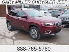 New 2019 Jeep Cherokee LIMITED 4X4 Sport Utility 1C4PJMDX9KD342570 for sale in Erie, PA at Gary Miller Chrysler Dodge Jeep Ram