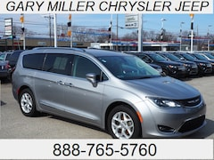 Certified 2017 Chrysler Pacifica Touring-L Plus Van 2C4RC1EG4HR543623 for sale at Gary Miller Chrysler Dodge Jeep Ram in Erie, PA